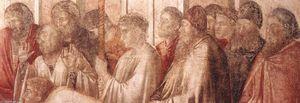 Scene da vita di san giovanni evangelista : 2 . raccolta di drusiana ( particolare ) ( 12 )