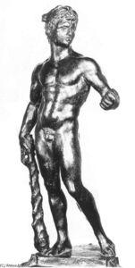 Hércules con la Manzana de las Hespérides