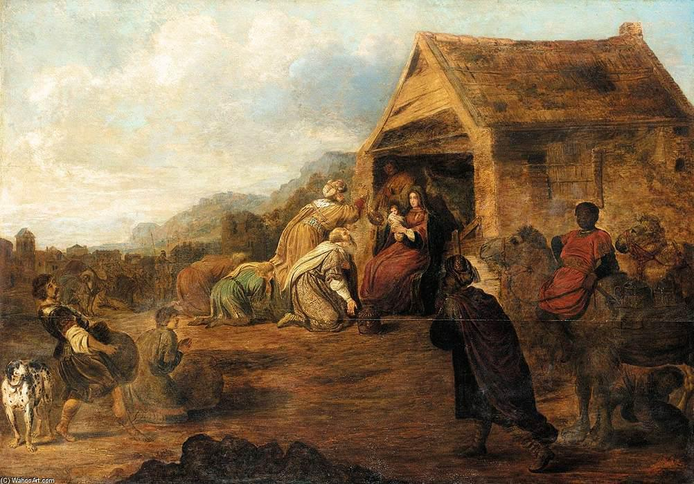 Wikioo.org - The Encyclopedia of Fine Arts - Painting, Artwork by Gerrit Claesz Bleker - Adoration of the Magi