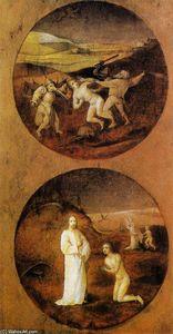 Mankind Beset by Devils (reverse of Noah panel)