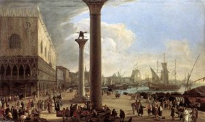 The Wharf, Looking toward the Doge's Palace