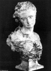 Amélie de Montfort Dressed as a Bride
