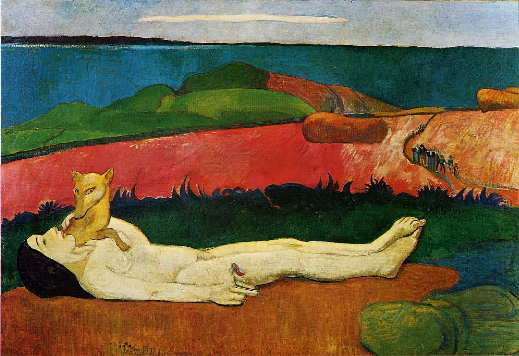 The Loss of Virginity (also known as The Awakening of Spring) - Paul Gauguin