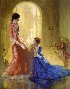 Wikioo.org - The Encyclopedia of Fine Arts - Artist, Painter  Henry Salem Hubbell