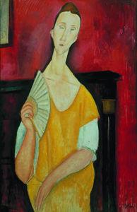 Lunia Czechowska (also known as La femme à l'éventail)