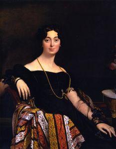 Madame Jacques-Louis Leblanc, nee Francoise Poncelle