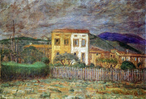 Maillol's House in the vicinity of Banyuls