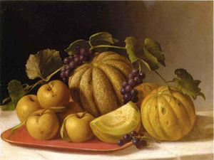 Melons and Yellow Apples