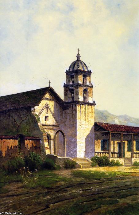 WikiOO.org - Enciclopédia das Belas Artes - Pintura, Arte por Edwin Deakin - Mission San Buenaventura