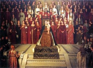 The Mother Enthroned