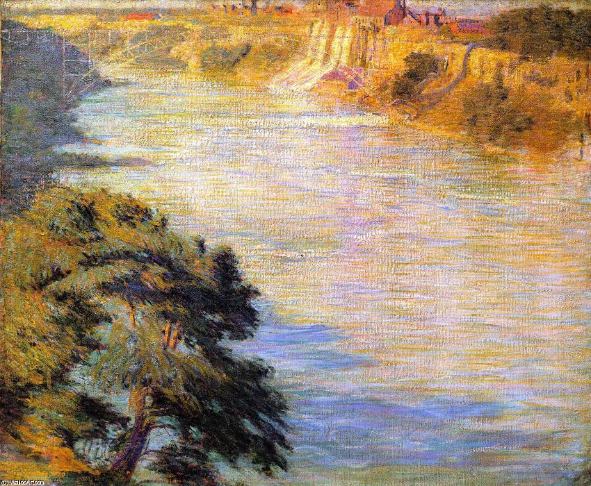 Wikioo.org - The Encyclopedia of Fine Arts - Painting, Artwork by Philip Leslie Hale - Niagara Falls