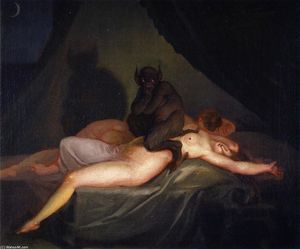 The Nightmare - Nicolai Abraham Abildgaard
