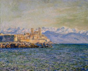 The Old Fort at Antibes (also known as The Fort of Antibes)