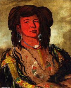 One Horn, Head Chief of the Miniconjou Tribe, Teton Dakota (Western Sioux)
