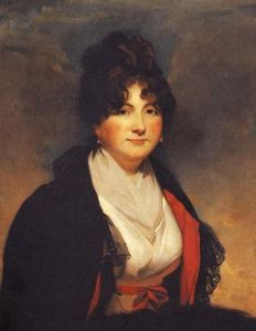 Portrait of Catherine Vorontsova