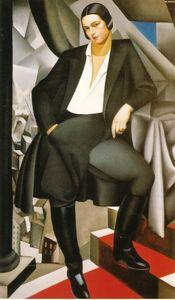 Portrait of the Duchess of La Salle