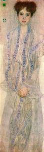 Portrait of Gertha Felssovanyi