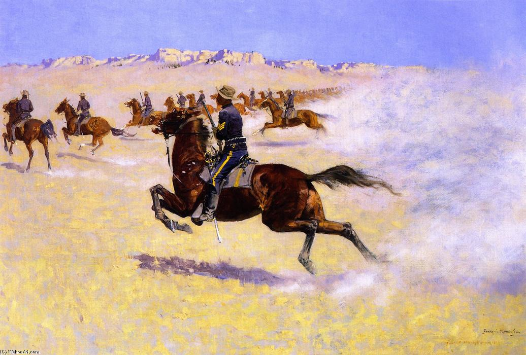 frederic remington and his paintings and writings on racism and imperialism In the remington (january 1909) looking at sky 76 writing an appreciative tribute for scribner's magazine about frederic remington's art in the wake.