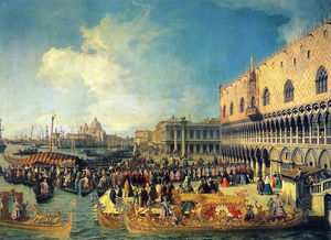 Reception of the Imperial Ambassador at the Doge's Palace