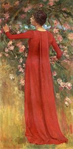 The Red Gown (also known as His Favorite Model)