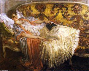 Rest (also known as Femme au sofa)