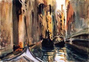 Río de San Salvatore, Venecia