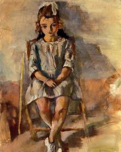 Seated Young Girl