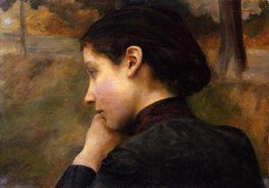 Soir d'automne (also known as Study for Les amoreux)