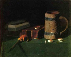 Still Life: Book and Mug