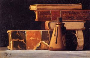 Still Life with Books and Inkwell