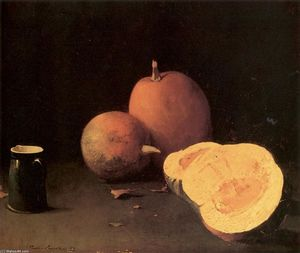 Still Life with Squash and PItcher