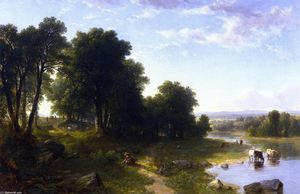Wikioo.org - The Encyclopedia of Fine Arts - Artist, Painter  Asher Brown Durand