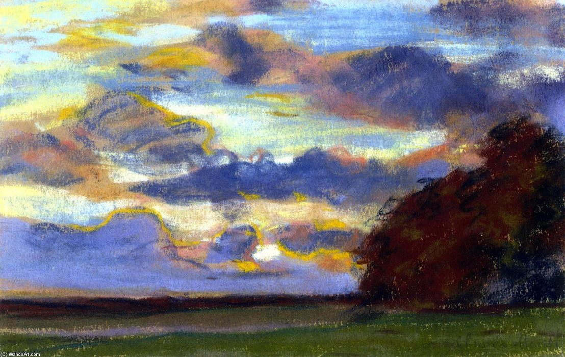Wikioo.org - The Encyclopedia of Fine Arts - Painting, Artwork by Claude Monet - Sunset