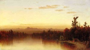 A Twilight in the Adirondacks