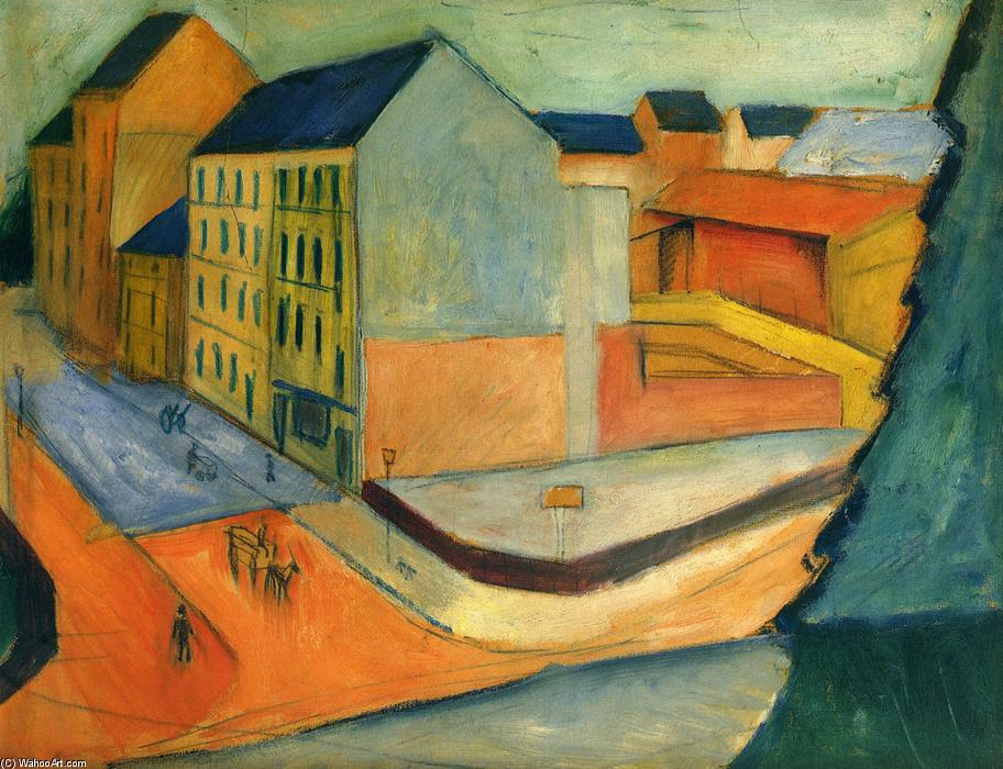 august macke August macke (3 january 1887 - 26 september 1914) was a german expressionist painter he was one of the leading members of the german expressionist group der blaue reiter (the blue rider) he lived during a particularly innovative time for german art: he saw the development of the main german.