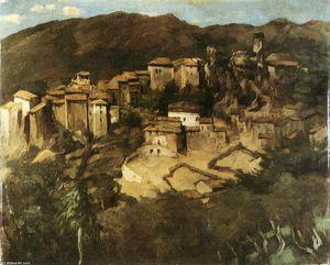 View of Olevano