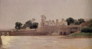 View on the Nile at Asyut