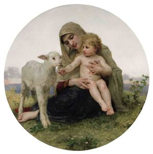 The Virgin with the Lamb