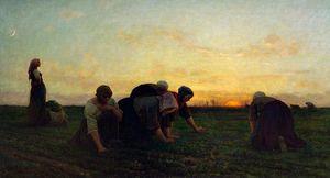 WikiOO.org - Güzel Sanatlar Ansiklopedisi - Sanatçı, ressam Jules Adolphe Aimé Louis Breton