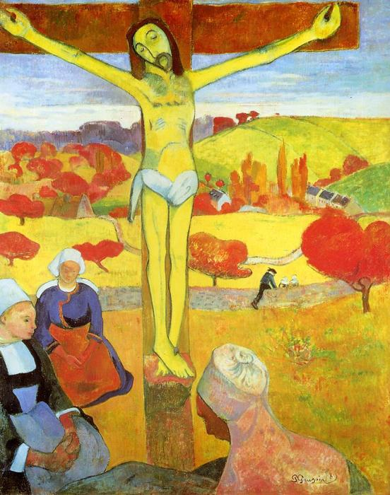 Wikioo.org - The Encyclopedia of Fine Arts - Painting, Artwork by Paul Gauguin - Yellow Christ