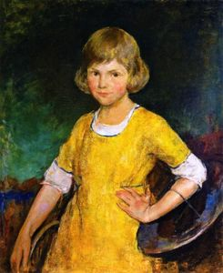 Young Girl in Yellow