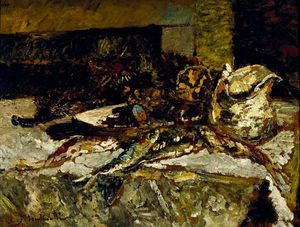 Still Life with Sardines and Sea-Urchins
