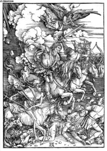 The Four Horsemen of the Apocalypse, Death, Famine, Pestilence and War