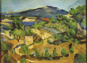 Mountains in Provence. L'Estaque