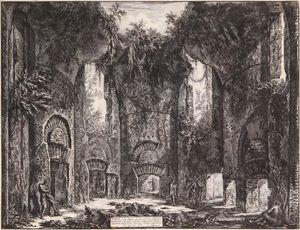 O Sia Luogo Che Da Ingresso A Due Diversi Grandiosi Cubicoli, E Ad Altre Magnifiche Stanze, Esistente Nella Villa Adriana