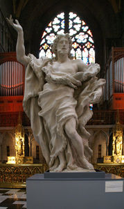 Liege, Saint Paul's Cathedral, John The Baptist By Jean Del Cour