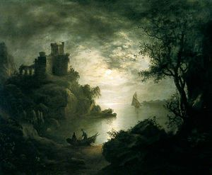 A Moonlit Scene