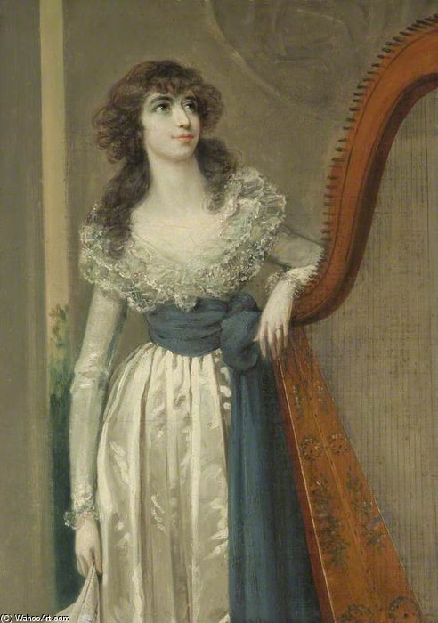 WikiOO.org - Enciklopedija dailės - Tapyba, meno kuriniai Arthur William Devis - Ann Debonnaire