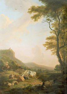 A Pastoral Scene -