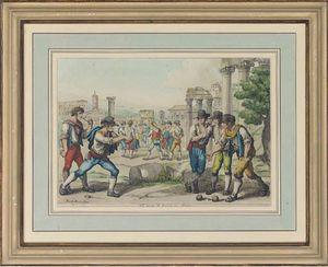 Una Colección De pintorescas costumbres de Roma